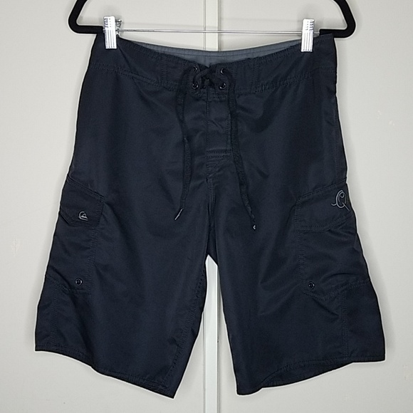 Quiksilver Other - Quiksilver size 30 polyester  black surf trunks